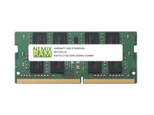 NEMIX RAM 4GB Replacement for Samsung M471A5244CB0-CTD DDR4-2666 SODIMM 1Rx16
