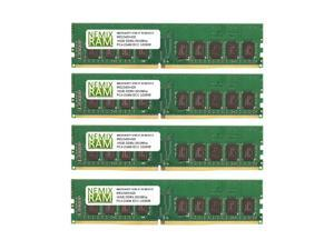 64GB Kit 4x16GB DDR4-2933 PC4-23400 ECC UDIMM 2Rx8 Memory for Server/Workstation by Nemix Ram