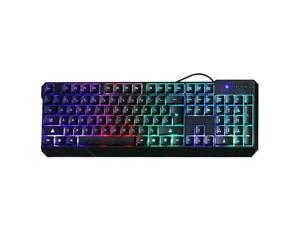 DADUIZHANG Profession Game MechanicalGaming Keyboard Backlight Function 104 Keys USB Wired Anti-Skid Waterproof Keyboards Ergonomic Design Computer Keybo