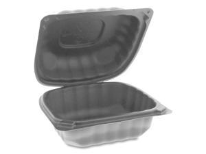 Pactiv Microwave Hinged Lid Containers, 5.75x5.95x3.1 YCNB06000000