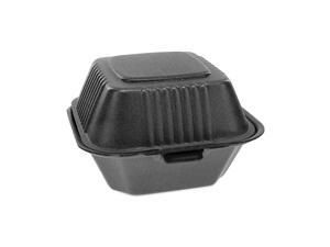 Pactiv Foam Hinged Containers, Sandwich, 5.75x5.75x3.25 YHLB06000000
