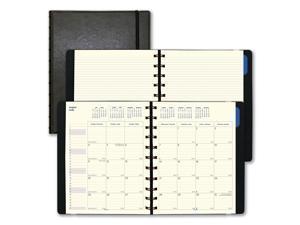Filofax Monthly Planner, 10.75 x 8.5, Black, 2020-2021 C1811001