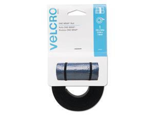 "VELCRO USA Inc VEK90340 Get A Grip Velcro - 0.75"" x 12.00 ft. - Black"