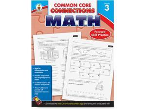 Carson-Dellosa Math Workbook Grade 3 96pgs 1/BK Multi SB35381M
