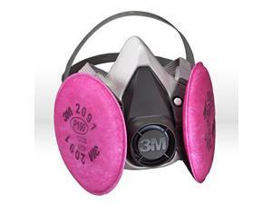 3M 6000 Series Half Facepiece Respirator Medium 5113107002