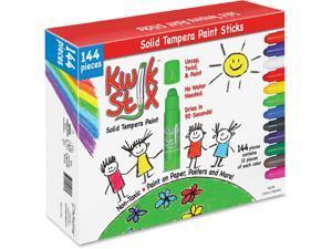 The Pencil Grip Kwick Stix Solid Tempera Pain Sticks 144/PK Ast 644