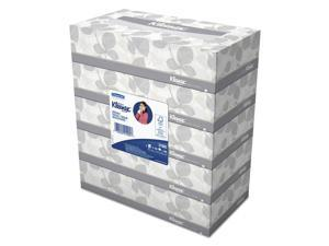 Kleenex White Facial Tissue 2-Ply 100 Tissues/Box 5 Boxes/Pack 6 Packs/Carton