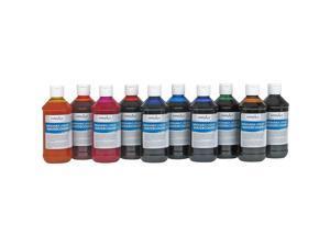 Handy Art Washable Liquid Watercolor 8oz. 10/ST Ast 882275