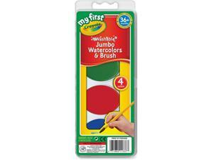 Crayola My First Jumbo Washable Watercolors Set [Toy]