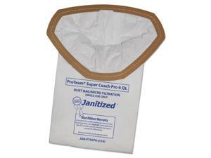 Janitized Vacuum Filter Bags Designed to Fit ProTeam Super Coach Pro 6/GoFree