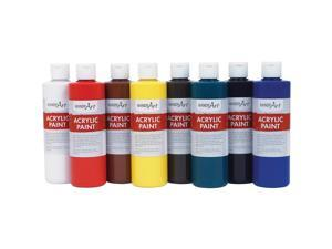Handy Art Acrylic Paint 8oz. 8/ST Ast 881020