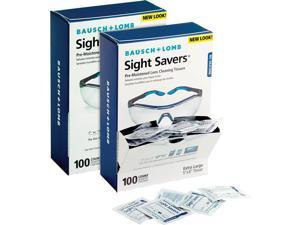 """Bausch + Lomb Inc Lens Cleaning Tissues Pre-Moistened 5""""x8"""" 200/BD 8574GMBD"""