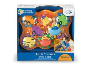 """Learning Resources Build and Spin Little Cruisers 11""""Wx12""""Lx5-1/5""""H Multi"""