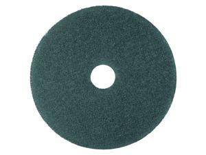 "3M Blue 13"" Floor Cleaner Pads 5300, Nylon/Polyester Fiber, 5 Pads (MCO 08406)"
