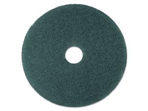 "3M Blue 19"" Floor Cleaner Pad 5300, Nylon/Polyester Fiber, 5 Pads (MCO 08412)"