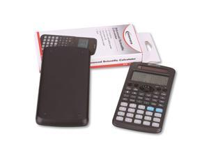 Innovera IVR15970 Advanced Scientific Calculator, 252 Functions, 12-Digit LCD, Two Display Lines