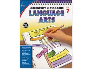 Carson-Dellosa Language Arts Notebook Grade 7 96 Pgs MI 104914