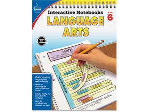 Carson-Dellosa Language Arts Notebook Grade 6 96 Pgs MI 104913