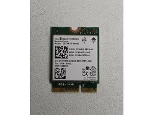 T0HRM DELL 9560NGW 2.4G/5G 300MBPS+1730MBPS 160 MHZ CHANNELS BLUTOOTH 5.0 NGFF COMBO WIFI ADAPTER