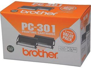 Brother PC 301 Black Fax Cartridges, Standard PC3012PK