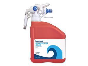 Boardwalk PDC Neutral Floor Cleaner, Tangy Fruit Scent, 3 Liter Bottle, 2/Carton