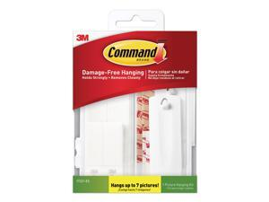 Command Picture Hanging Kit, Assorted Sizes, 24 Pieces/Pack 17221ES