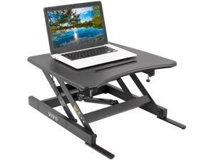 "VIVO Single Top Height Adjustable 22"" Laptop Standing Desk Riser 
