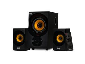 Acoustic Audio AA2170 Bluetooth 2.1 Home Speaker System with USB and SD Computer Multimedia