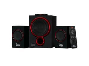 Theater Solutions TS212 Powered Bluetooth 2.1 Speaker System Home Multimedia Computer Gaming