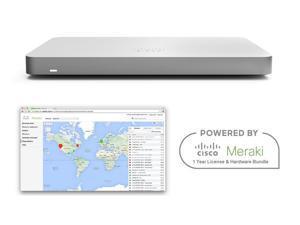 Cisco Meraki MX68 Router Security Appliance Bundle with 1 Year License