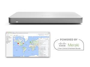 Cisco Meraki MX67 Router Security Appliance Bundle with 3 Year License Bundle