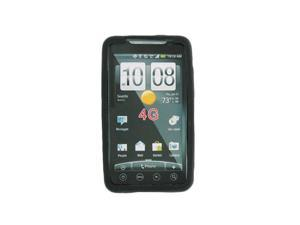 Sprint Silicone Gel Protective Cover for HTC EVO 4G - Black