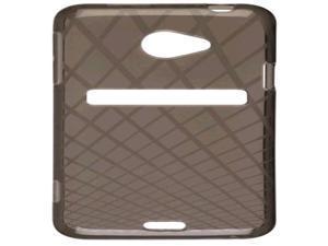 Ventev Waffle Dura-Gel Case for HTC EVO 4G LTE (Smoke) - 379669
