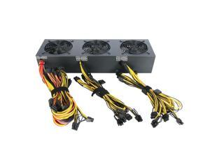 2018 2600w  Bitcoin Miners psu PC Power Supply support 12 card for Miner High quality Power supply For BTC ETC ZEC