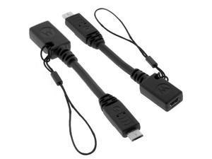 Motorola MicroUSB Adapter Cable. Micro USB to Mini USB Adapter for Motorola Phones