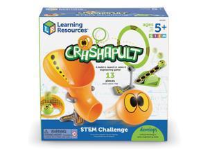 "Learning Resources Activity Set Crashapult 10""Wx10""Lx4-3/5""H Multi LER9287"