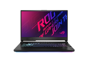 "ASUS ROG Strix G17 G712LW Gaming and Entertainment Laptop (Intel i7-10750H 6-Core, 16GB RAM, 512GB SSD, 17.3"" Full HD (1920x1080), NVIDIA RTX 2070, Wifi, Bluetooth, 1xUSB 3.2, 1xHDMI, Win 10 Home)"