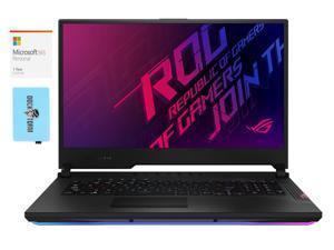 "ASUS ROG Strix Scar 17 Gaming and Entertainment Laptop (Intel i7-10875H 8-Core, 32GB RAM, 2x8TB PCIe SSD RAID 0  (16TB), 17.3"" Full HD (1920x1080), Win 10 Pro) with Microsoft 365 Personal , Hub"