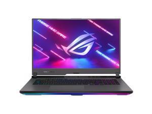 """ASUS ROG Strix G17 Gaming Laptop 17.3"""" Full HD 300Hz 100% sRGB IPS Display AMD Octa-Core Ryzen 9 5900HX 64GB DDR4 2TB SSD NVIDIA GeForce RTX 3070 8GB RGB Backlit Keyboard USB-C Win10 Black"""