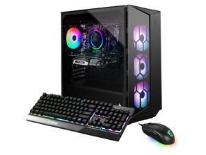 MSI Aegis R 10TC Desktop PC Black (Intel i7-10700F 8-Core, 16GB RAM, 1TB SSD, NVIDIA RTX 3060, Wifi, Bluetooth, 1xUSB 3.2, 1xHDMI, 3 Display Port (DP), Backlit Keyboard, Win 10 Home)