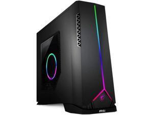 MSI Aegis SE 10th Desktop PC Black (Intel i5-10400F 6-Core, 32GB RAM, 512GB PCIe SSD, AMD Radeon RX 5600 XT, Wifi, Bluetooth, 2xHDMI, 3 Display Port (DP), Backlit Keyboard, Win 10 Home)