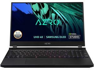 "Gigabyte AERO 15 OLED Gaming & Entertainment Laptop (Intel i7-11800H 8-Core, 64GB RAM, 8TB PCIe SSD, 15.6"" 4K UHD (3840x2160), NVIDIA RTX 3080, Fingerprint, Wifi, Bluetooth, Webcam, Win 10 Pro)"