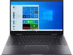 "HP ENVY x360 15 Home & Entertainment Laptop 2-in-1 (AMD Ryzen 7 5700U 8-Core, 32GB RAM, 1TB PCIe SSD, 15.6"" Touch  Full HD (1920x1080), AMD Radeon, Active Pen, Wifi, Bluetooth, Webcam, Win 10 Pro)"
