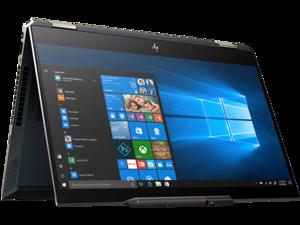 "HP Spectre x360 - 15 Home and Business Laptop (i7-8565U 4-Core, 16GB RAM, 256GB SSD, 15.6"" Touch  4K UHD (3840x2160), NVIDIA GeForce MX150, Fingerprint, Wifi, Bluetooth, Webcam, Win 10 Home)"