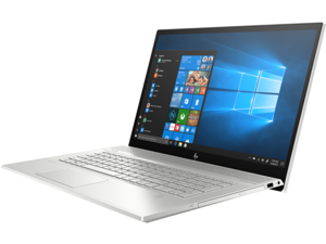 "HP ENVY 17t i7 Touch Home and Business Laptop (Intel i7-8565U 4-Core, 16GB RAM, 512GB SSD, 17.3"" Touch  Full HD (1920x1080), NVIDIA GeForce MX250, Fingerprint, Wifi, Bluetooth, Webcam, Win 10 Pro)"