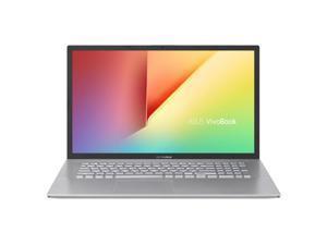 "ASUS VivoBook 17 S712FA-DS76 Home and Business Laptop (Intel i7-10510U 4-Core, 8GB RAM, 256GB SSD + 1TB HDD, 17.3"" Full HD (1920x1080), Intel UHD Graphics, Fingerprint, Wifi, Bluetooth, Win 10 Home)"