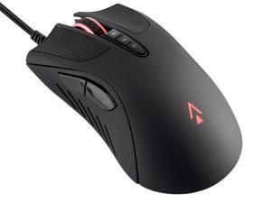 Dark Matter by Monoprice Aether Optical Gaming Mouse - 16000DPI, Light Strike Switches, PWM3389, RGB, Wired, 6 DPI Presets