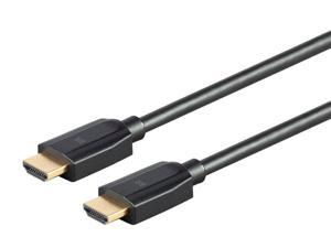 Monoprice Ultra 8K High Speed HDMI Cable - 6 Feet - Black, 48Gbps, 8K, Dynamic HDR, eARC - DynamicView Series