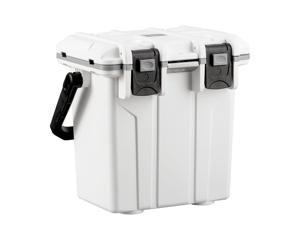 Monoprice 20 Quart Cooler With Built-In Bottle Opener, 4 Cup Holders, Anti-slip Base - Pure Outdoor Collection