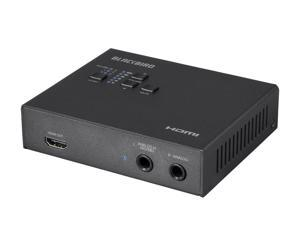 Monoprice Blackbird 4K 6G-SDI to HDMI Converter - Black with SDI Loopout, 4K @ 30Hz